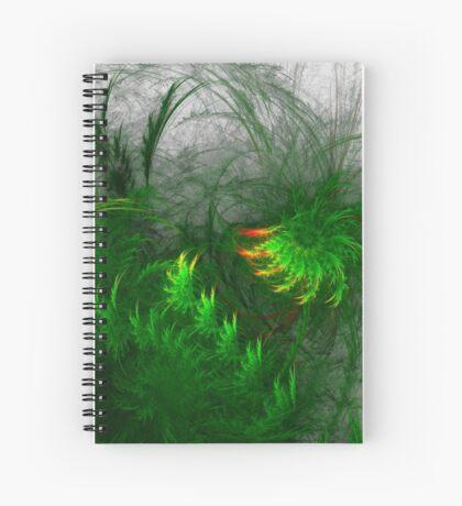 Jungle #fractal art Spiral Notebook