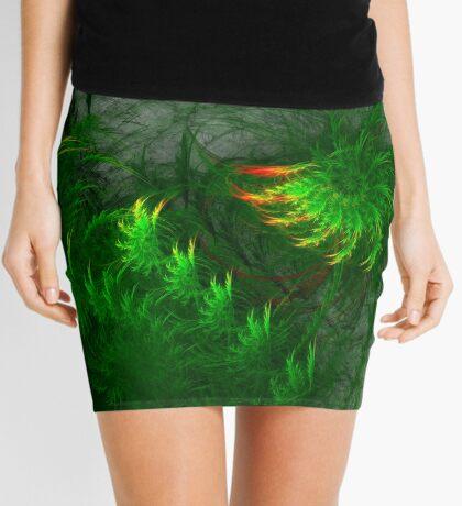 Jungle #fractal art Mini Skirt