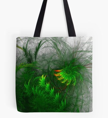 Jungle #fractal art Tote Bag