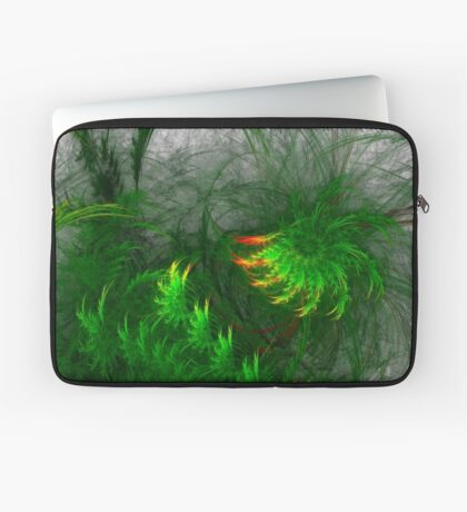 Jungle #fractal art Laptop Sleeve