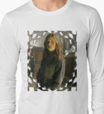 Buffy Angel Faith Eliza Dushku 1 Long Sleeve T-Shirt