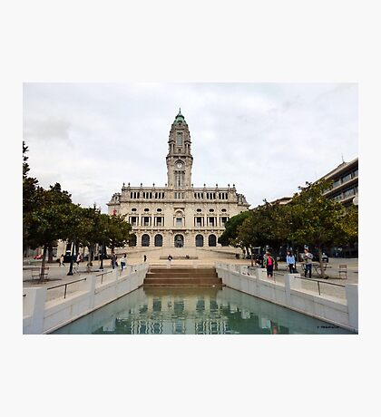 Porto City Hall Photographic Print