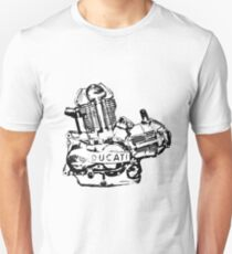 Ducati Engine Unisex T-Shirt