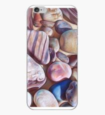 """Pallette of stones - Hallett Cove beach SA"" - detail  iPhone Case"