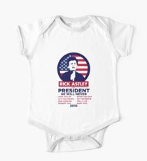 Astley For President Kids Clothes