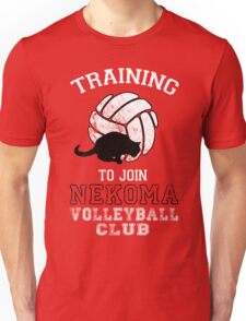 Training to join Nekoma Volleyball Club Unisex T-Shirt