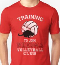 Training to join Nekoma Volleyball Club T-Shirt