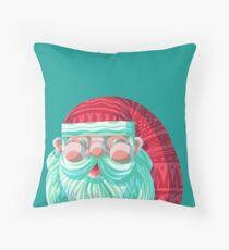 Hey Santa Throw Pillow