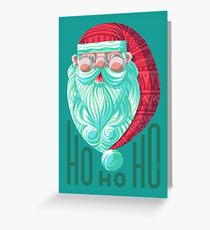 Hey Santa Greeting Card