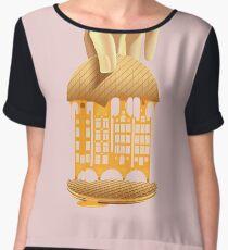 Stroopwafel Women's Chiffon Top