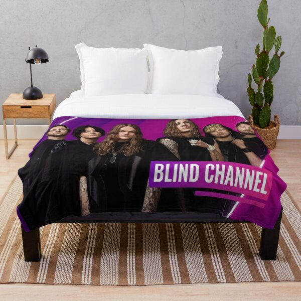 Blind Channel Throw Blanket