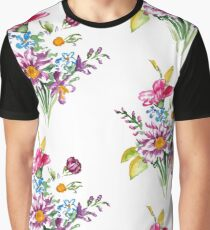 Colorful bunch of flowers  Graphic T-Shirt