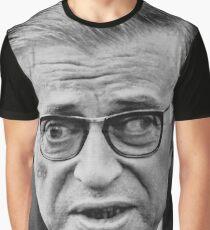 Jean-Paul Sartre Graphic T-Shirt