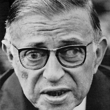 Jean-Paul Sartre by nihilistmemes