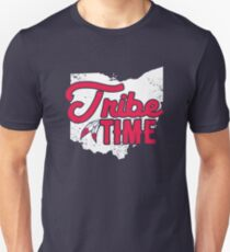 Stammeszeit - Cleveland Baseball Slim Fit T-Shirt