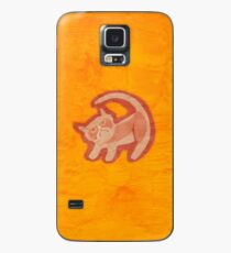Grumpy King (textured) Case/Skin for Samsung Galaxy
