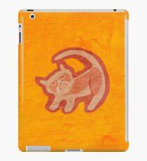 Grumpy King (textured) iPad Case/Skin