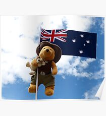 Pooh Bear and Kanga Down Under! Poster