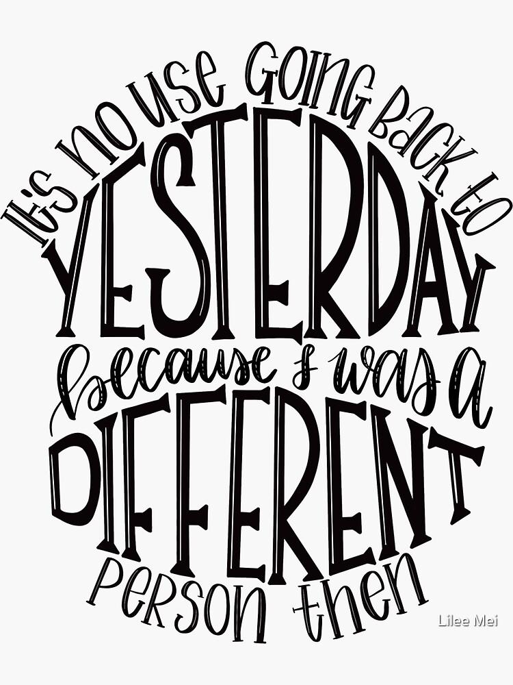 Alice in Wonderland Quote by alwaysbookish
