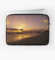Sun Down of the New Year Laptop Sleeve