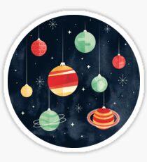 Joy to the Universe Sticker