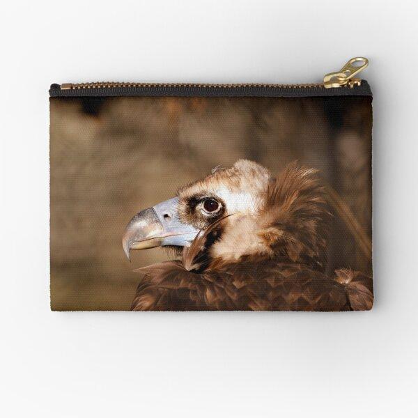 Cinereous/Eurasian Black Vulture Zipper Pouch