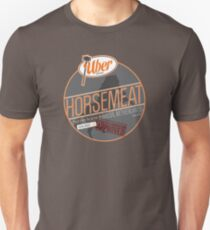 Uber Brand Horsemeat - Plain - with stamp T-Shirt