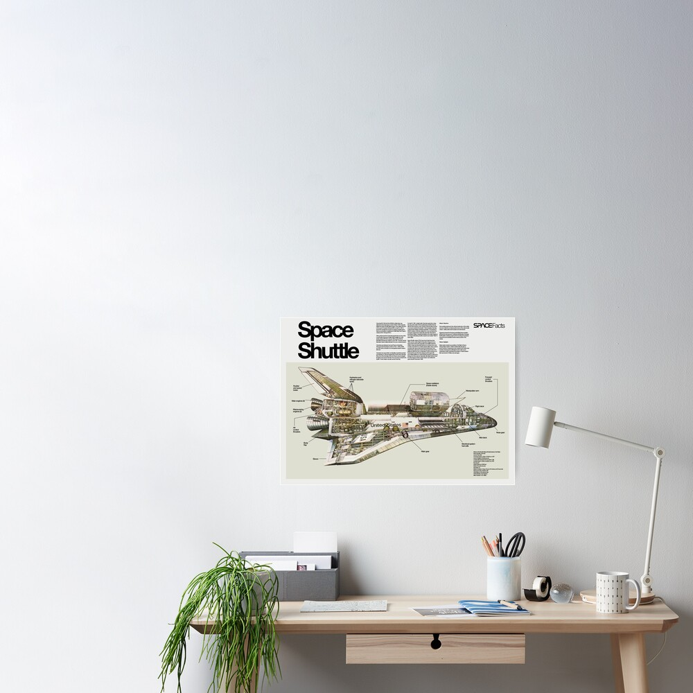 Poster «Navette spatiale Columbia»
