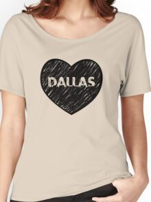 I Love Dallas - I Heart DAL (Urban) Women's Relaxed Fit T-Shirt