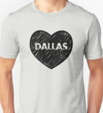 I Love Dallas - I Heart DAL (Urban) T-Shirt
