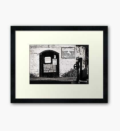 Canal Cruising Company Framed Print