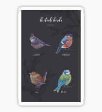British Birds - Volume 1 Sticker