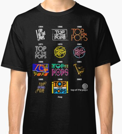 NDVH Top of the Pops Logos Classic T-Shirt