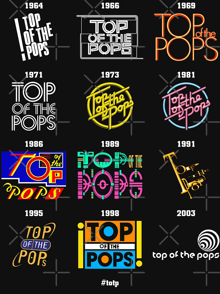 NDVH Top of the Pops Logos by nikhorne
