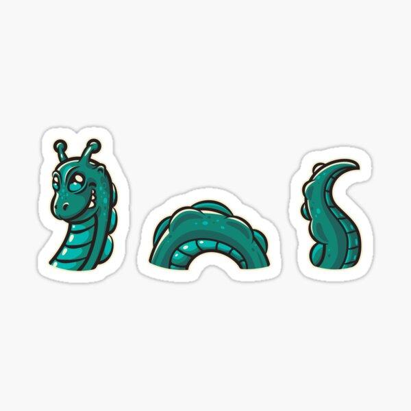 Nessie Sticker