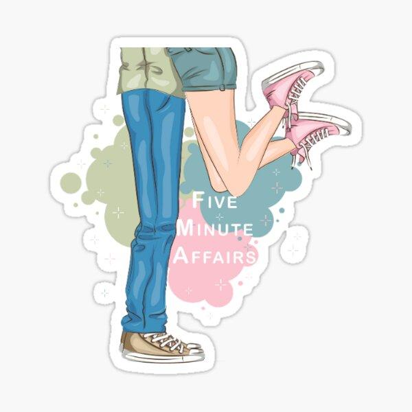 Small 5MinuteAffairs Color Sticker