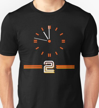 NDVH BBC 2 Clock T-Shirt