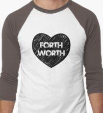 I Love Fort Worth - I Heart Ft Worth [Urban] Men's Baseball ¾ T-Shirt