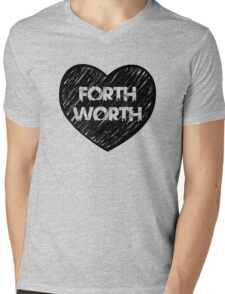 I Love Fort Worth - I Heart Ft Worth [Urban] Mens V-Neck T-Shirt