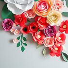 Paper flowers by Alita  Ong