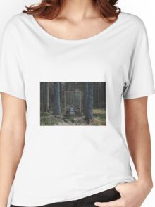 Mirror Of The Soul T-shirt femme coupe relax