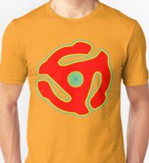 Music 45 Vinyl Holder Turntable Record Unisex T-Shirt