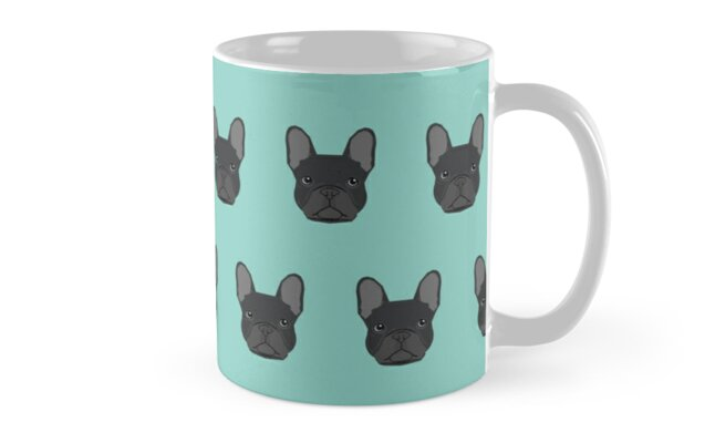 French Bulldog black coat frenchie must have gifts for dog person dog lover bulldog owner cute doge by PetFriendly