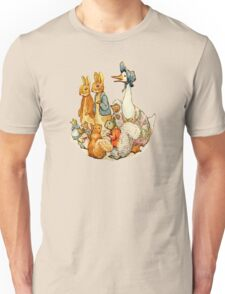 Children's Story Book Animals Unisex T-Shirt