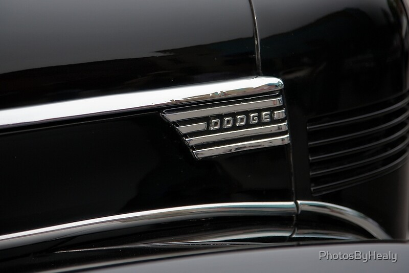 1939 Dodge D11 Luxury Liner Emblem by Photos by Healy