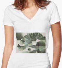 Fibonacci  Women's Fitted V-Neck T-Shirt