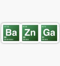 Breaking Bad - Bazinga Sticker