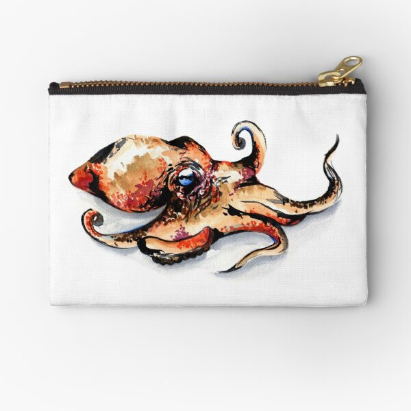 Aquarelle pieuvre Pochette