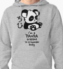 I'm a cute little panda Pullover Hoodie