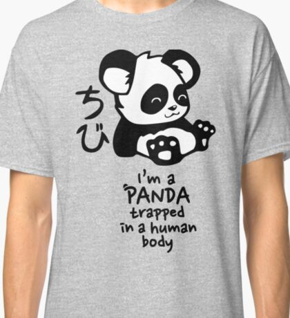 I'm a cute little panda Classic T-Shirt